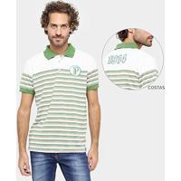 Camisa Polo Palestra Itália 1914 Listrada Masculina - Masculino