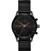 Relógio Mvmt Masculino Aço Preto - D-Mv01-Bbrg