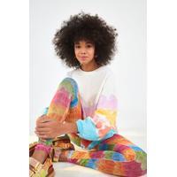 Legging Tule Pena Color Multicolorido
