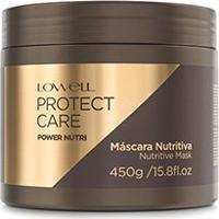 Máscara Power Nutri Protect Care Lowell 450G - Feminino-Incolor