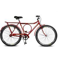 Bicicleta Kyklos Aro 26 Circular 5.8 Freio Manual A-36 Vermelho - Tricae