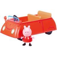 Veículo E Mini Figura - Peppa Pig - Carro De Família Da Peppa - Dtc - Feminino