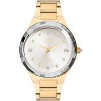 ... Relógio Technos Feminino Crystal 2036Mjk 4K 2036Mjk 4K - Feminino -Dourado c82a916ce2
