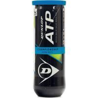 Bola Tênis Dunlop Atp Championship Extra Duty Tubo - Unissex