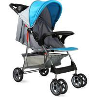 Carrinho De Bebê Esmeralda Baby Style Azul