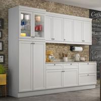 Cozinha Compacta Americana 12 Pt 3 Gv Branca