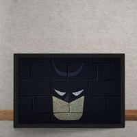 Quadro Decorativo Batman Mural Minimalista Chapiscado Dc Comics 25X35