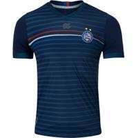 Camisa Do Bahia Concentração 2020 Esquadrão - Masculina - Azul