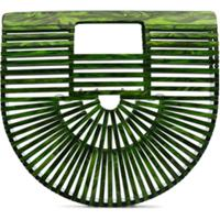 Cult Gaia Clutch Ark Mini - Verde