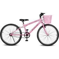 Bicicleta Kyklos Bikes Aro 24 Magie Sem Marchas Rosa
