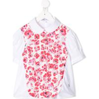 Simonetta Camisa Floral - Branco