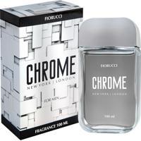 Perfume Fiorucci Chrome Masculino Deo Colônia 100Ml