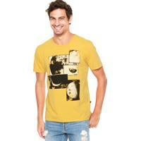 Camiseta Forum Estampa Amarelo