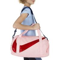 Mala Nike Gym Club - 25 Litros - Rosa Cla/Vermelho