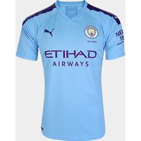Camisa Manchester City Home 19/20 S/N° - Torcedor Puma - Masculino