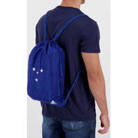 Bolsa De Ginástica Adidas Cruzeiro Azul