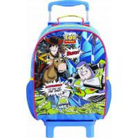 Mochila Rodinha Toy Story 37265 Grande Azul