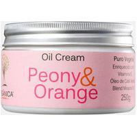 Creme Corporal Peony & Orange Oil Cream Orgânica 250Gr