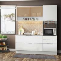 Cozinha Completa Linear 5 Pt 3 Gv Branco