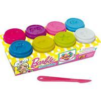 Barbie Massinha Divertida Com 8 Potes - Fun Divirta-Se
