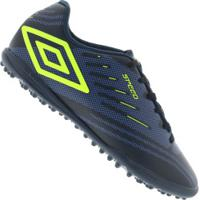 Chuteira Society Umbro Speed Iv Tf - Adulto - Azul Esc/Azul