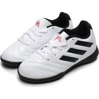 Chuteira Adidas Performance Menino Goletto Vii Tf Jr Branco