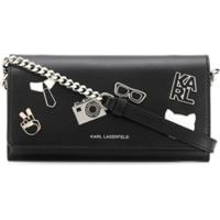 Karl Lagerfeld Carteira K/Studio - Preto