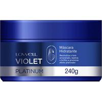 Lowell Máscara Violet Platinum 240G - Feminino-Incolor