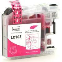 Cartucho Para Brother Lc 105 Magenta Universal Compatível 14,5Ml