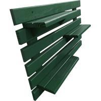 Floreira Vertical Madeira Alce Couch Vaso Parede Verde 60Cm - Verde - Dafiti