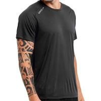 Camiseta Speedo Raglan Basic Masculina - Masculino-Preto