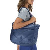 Bolsa Fila Foam - 26 Litros - Feminina - Azul Escuro