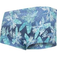 Sunga Oxer Medley New Boracay - Adulto - Azul Esc/Verde