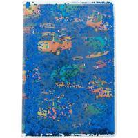 Caderno Stz Metalizado Dinossauros Azul Colorido