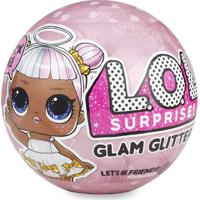 Mini Boneca Surpresa - Lol - Lil Outrageous Littles - Glam Glitter Series - 7 Surpresas - Candide