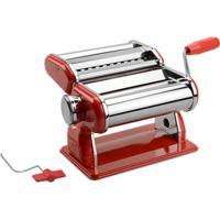 Máquina Para Macarrão Vermelho - Utilidades Verona 35 X 20 X 15,5 Cm Vermelho Brinox