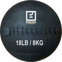 Wall Ball Medicine Ball Bola De Couro 8Kg P/ Crossfit, Treinamento Funcional - Enforce Fitness - Unissex