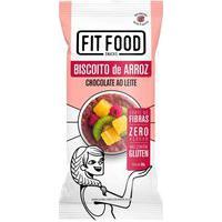 Biscoito De Arroz C/ Chocolate Ao Leite Fit Food 60G
