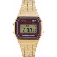 Relógio Casio - A159Wgea-5Df - Unissex
