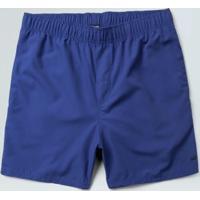 Short Sport Masc. Elastico Aqualight-Azul - P