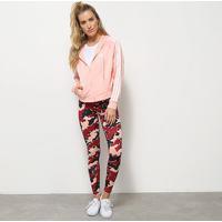 Agasalho Adidas Wts Feminino - Feminino-Rosa+Azul