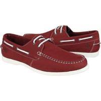 Mocassim Couro Shoes Grand Dockside Masculino - Masculino-Vermelho