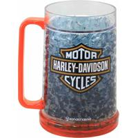 Caneca De Chopp Gelo 400 Ml Harley Davidson