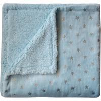Manta Infantil Flannel Azul
