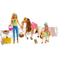 Boneca E Acessórios - Barbie - Chelsea Com Cavalo E Ponei - Mattel
