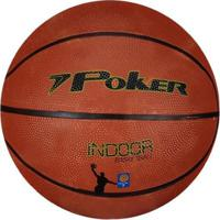 Bola De Basquete Poker Indoor - Unissex