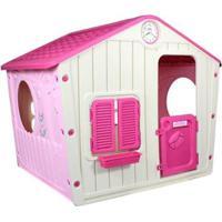 Casinha De Brinquedo Infantil Portatil Bel Brink - Unissex-Rosa