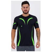 Camisa Placar Tapajós Preta E Verde