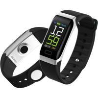 Smartband Monitor Cardíaco Sw Bluetooth R7 Preto