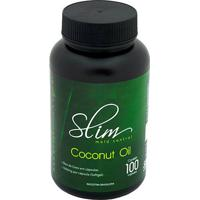 Slim Coconut Oil 100 Cáps - Bodybuilders - Unissex-Natural